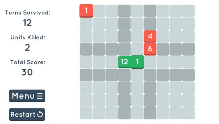 Slide, add and subtract to defend your base in Cubic!, a new strategic puzzle game