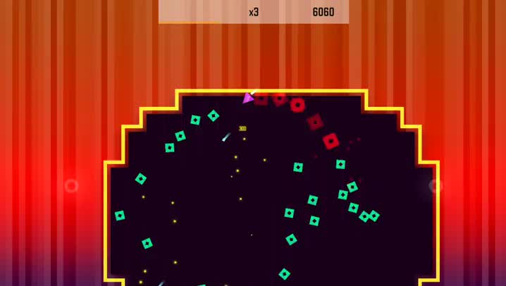 Trigonarium is an explosive new challenge for fans of dual-stick shooter arcade games