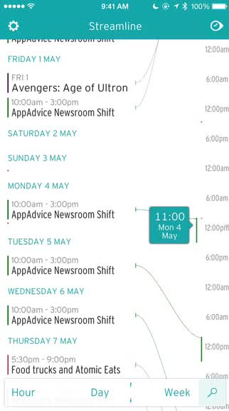 Streamline is a calendar app that brings a new approach on how you should see your schedule