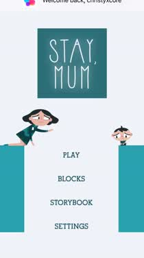 Stay, Mum is an endearing and heartfelt puzzle game