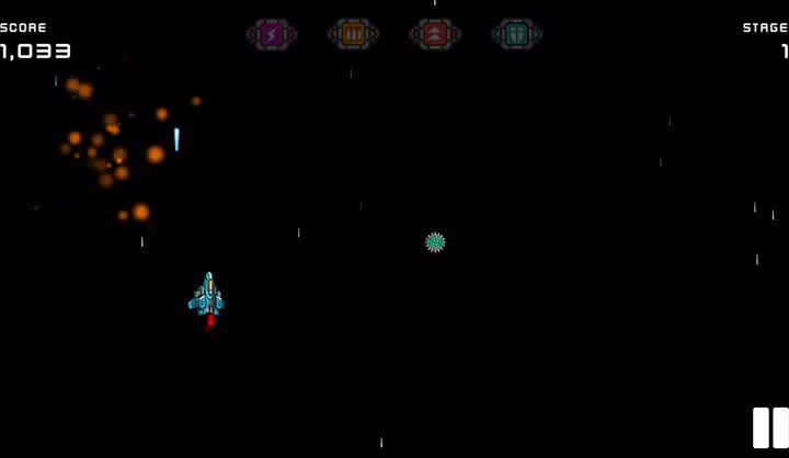 Blast your way through infinite space in Cosmos