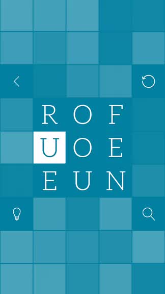Unscramble the words and solve the squares in Word²