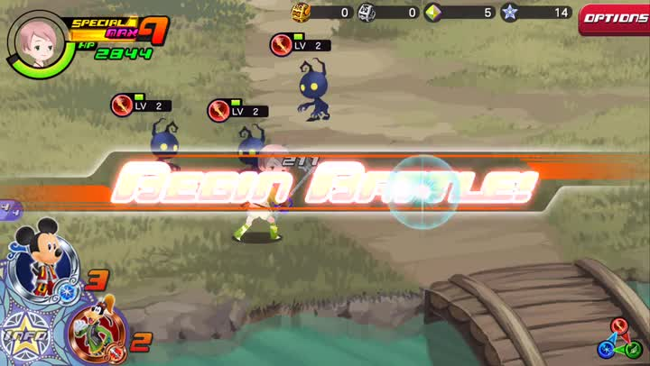 Become a master of the Keyblade in Kingdom Hearts Unchained χ