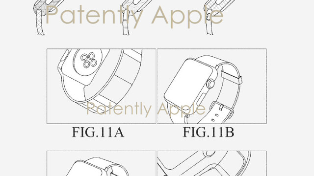 Samsung Used Apple Watch Designs in a Recent Patent Filing