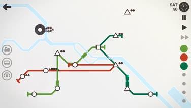 Build Your Dream Subway System in Mini Metro