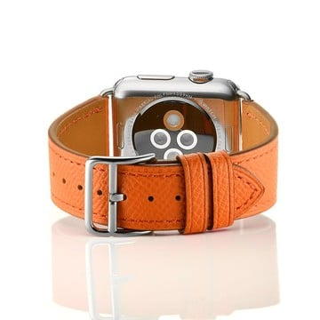 The Best Non-Apple Orange Hermès Single Tour Apple Watch Band