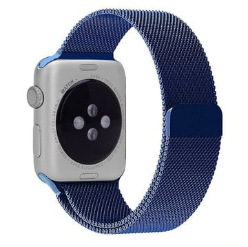 The Best Non-Apple Blue The Best Replica Milanese Loop Apple Watch Band