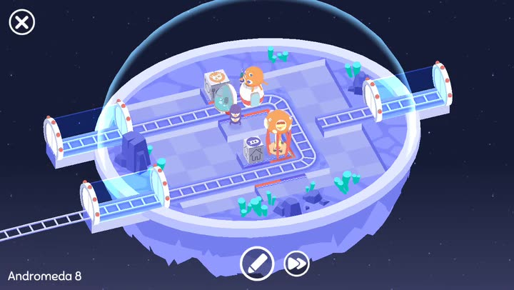Get Aliens Home in Cosmic Express, a Cute Puzzler