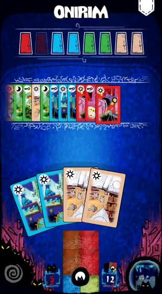 Escape a Nightmare in Onirim, a Solitaire-Style Board Game